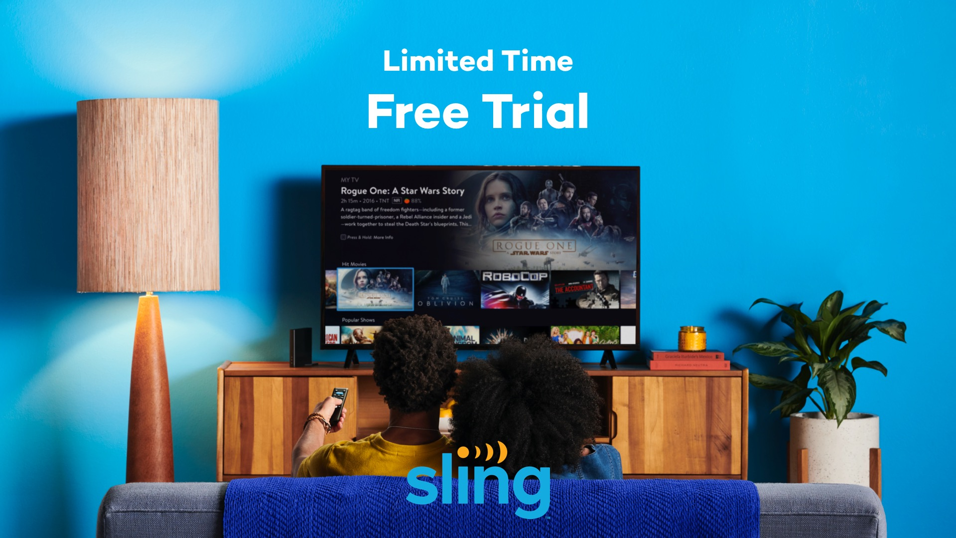 Have you tried Sling Free?