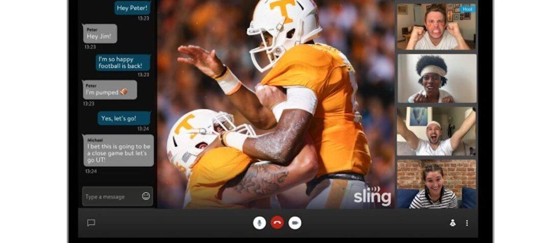 Sling TV is Beta Testing a Watch Party Feature